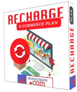 democrasite pack recharge e-commerce plan