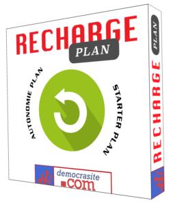 Democrasite pack rechage simple